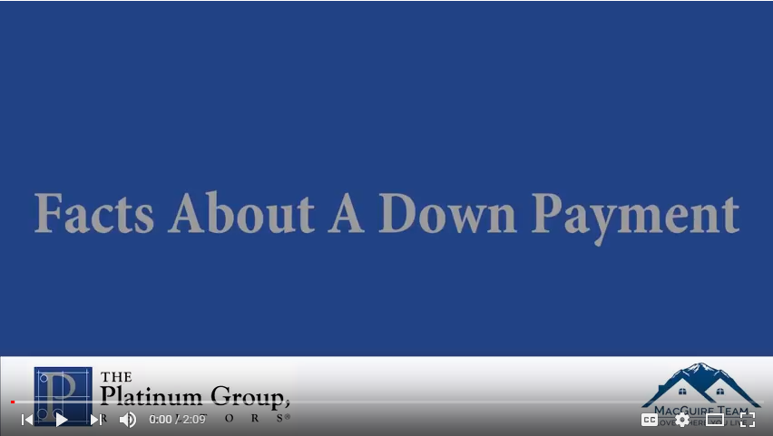 how much is a down payment on a home